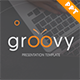 Groovy Presentation Templat-Graphicriver中文最全的素材分享平台