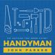Handyman Flyer-Graphicriver中文最全的素材分享平台
