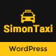 SimonTaxi - Taxi Booking WordPress Theme - TemplateCorp Item for Sale