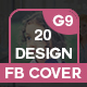 20 Facebook Cover Bundle(vo-Graphicriver中文最全的素材分享平台