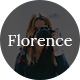 Florence - A Lifestyle Blog PSD Template - TemplateCorp Item for Sale