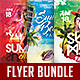 Summer Party Flyer Bundle V-Graphicriver中文最全的素材分享平台