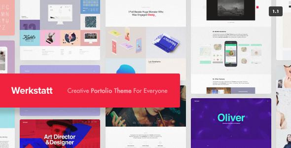 Werkstatt - Creative Portfolio Theme by fuelthemes | ThemeForest