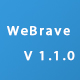 WeBrave Admin Responsive Multi-Purpose HTML Template - TemplateCorp Item for Sale