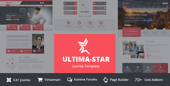 Ultima star corporate joomla template by supratech themeforest ultima star corporate joomla template business corporate maxwellsz