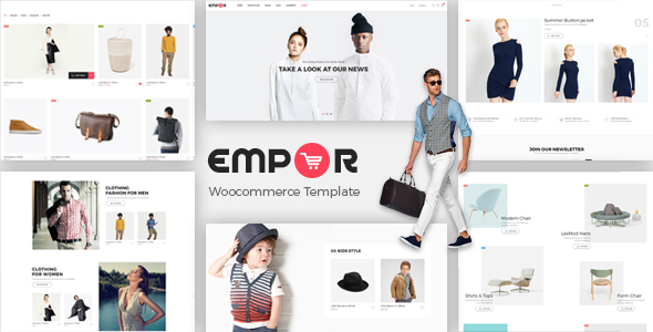 Empor - eCommerce, Shop Template by BrighThemes | ThemeForest