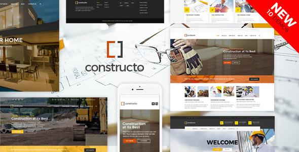wordpress construction theme