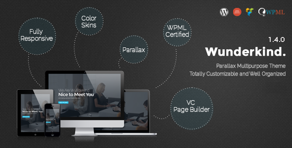 parallax wordpress