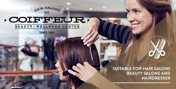 Coiffeur Hair Salon Wordpress Theme By Freevision