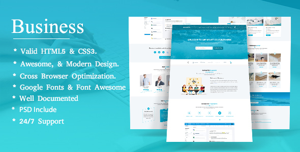 Bbusiness onepage business landing page template by theme asia bbusiness onepage business landing page template business corporate flashek Image collections