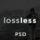 Lossless - Blog PSD Template - TemplateCorp Item for Sale