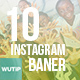 10 Instagram Post Banner - -Graphicriver中文最全的素材分享平台