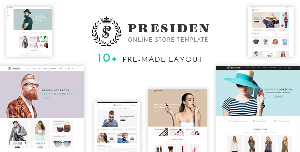 Presiden Clothing And Fashion Shopify Theme By Masstechnologist - Shopify product page template