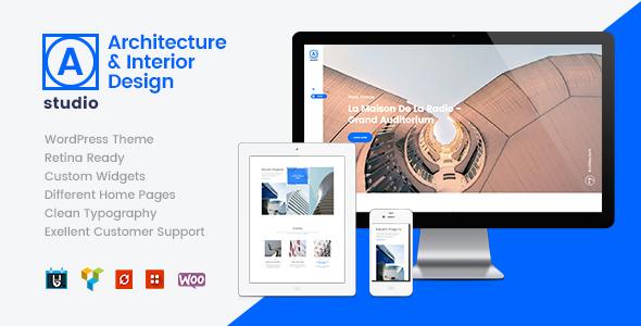 A.Studio | Interior Design and Architecture WordPress Theme - Business Corporate