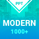 Modern Clean Powerpoint Tem-Graphicriver中文最全的素材分享平台