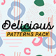 Delicious Patterns Pack-Graphicriver中文最全的素材分享平台
