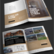 Real Estate Bifold Brochure-Graphicriver中文最全的素材分享平台