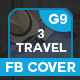 Travel And Tour Facebook Co-Graphicriver中文最全的素材分享平台