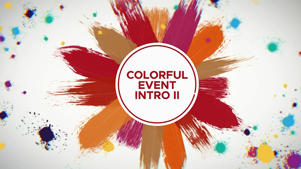 Colorful Event Intro   After Effects Template - 1
