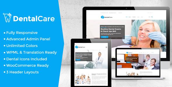 Dental Care - Dental & Medical WordPress Theme by strongholdthemes