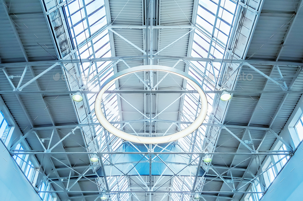 Skylight window architectural background stock photo by for Architectural skylight