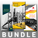 Trifold Bundle-Graphicriver中文最全的素材分享平台