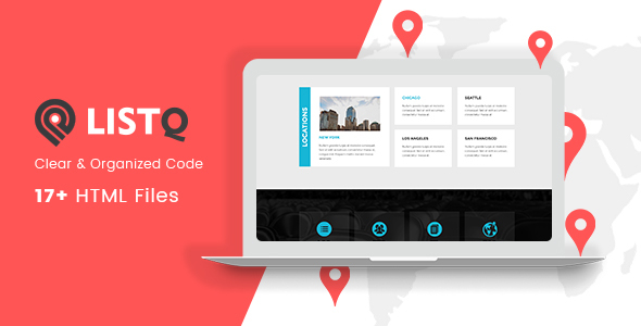 Listq directory listing html template by qtcmedia themeforest listq directory listing html template business corporate friedricerecipe Image collections