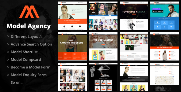Models - Fashion Model Agency WordPress Theme - Business Corporate