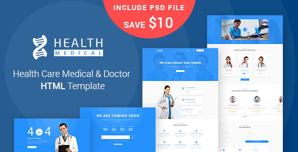 Health care medical doctor html5 template by maayostudio health care medical doctor html5 template health beauty retail maxwellsz