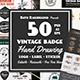 50 Vintage Badges Bundle-Graphicriver中文最全的素材分享平台