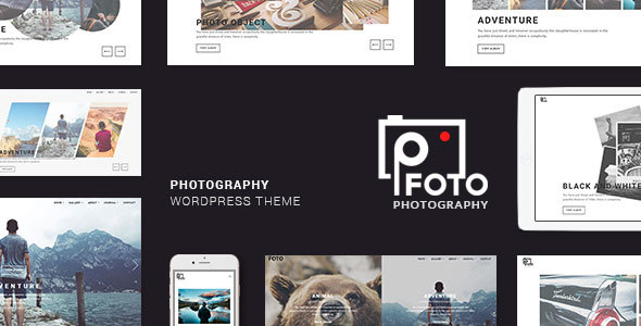 Foto - Photography WordPress Themes for Photographers by themesawesome