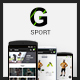 G-Sport | Fashion Ecommerce-Graphicriver中文最全的素材分享平台