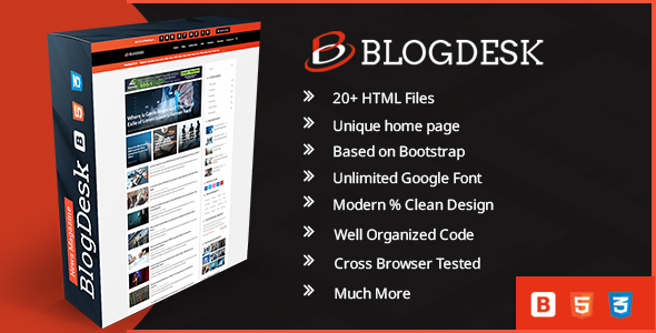 Blogdesk business responsive magazine template by kodeforest blogdesk business responsive magazine template corporate site templates accmission Image collections