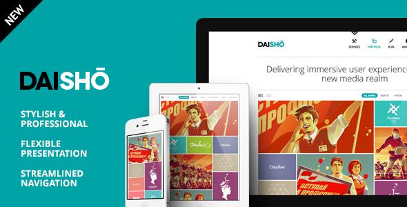 Daisho - Flexible WordPress Portfolio Theme by IKONIZE | ThemeForest