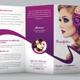 Beauty Salon Trifold Brochu-Graphicriver中文最全的素材分享平台