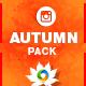 Autumn Sale Instagram Templ-Graphicriver中文最全的素材分享平台
