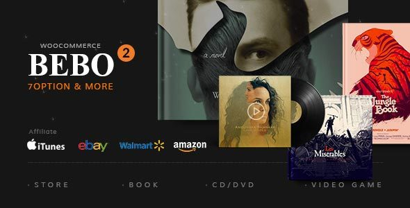 BEBO - Book Issue CD/DVD Store Publish Library WP by Beautheme ...