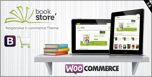 Book Store Responsive WooCommerce Theme by CrunchPress | ThemeForest