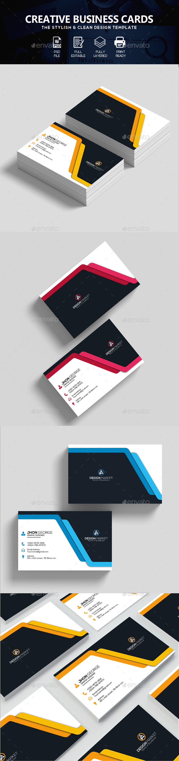 Tattoo Business Cards Templates Free