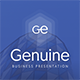 Genuine Business Presentati-Graphicriver中文最全的素材分享平台