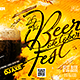 Beer Festival Flyer Templat-Graphicriver中文最全的素材分享平台