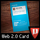 Web 2.0 Biz Card Version 2