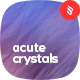 Acute Crystals Backgrounds-Graphicriver中文最全的素材分享平台
