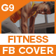 Fitness Facebook Timeline C-Graphicriver中文最全的素材分享平台