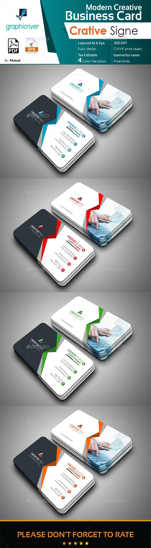Modern Business Card PSD Templates 30 Print Ready Design