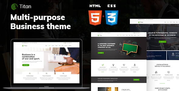 Titan business html5 template by crazycafe themeforest titan business html5 template business corporate wajeb Gallery