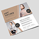 Simple Fashion Gift Voucher-Graphicriver中文最全的素材分享平台