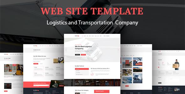 go fast transport logistics html template by alia themeforest