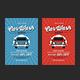Vintage Car Wash Flyer-Graphicriver中文最全的素材分享平台