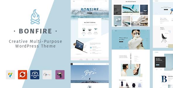 Bonfire - Creative Multipurpose WordPress Theme by ArrowHiTech ...